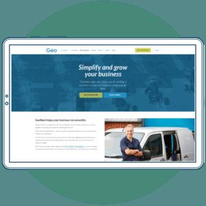 Geo example website copywriting