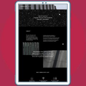 McMullan Bird website copywriting